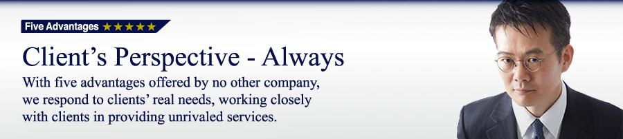 5つのメリット HYアドバイザーズはお客様の「欲しい」にお応えいたします。